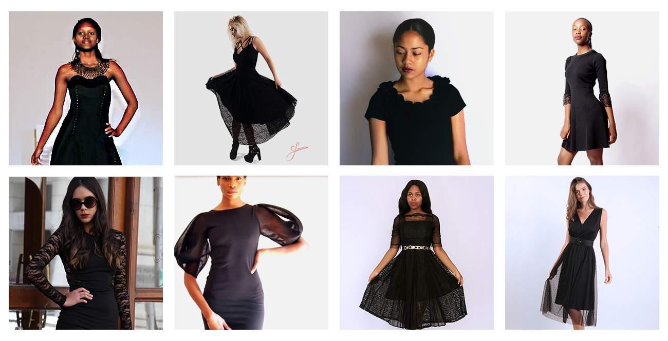 Little Black Dresses on Hello Pretty