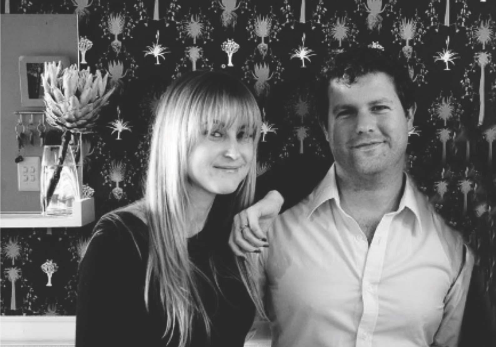Scott Hadfield & Samantha Marx. Co-Founders of Hello Pretty Designer Marketplace.