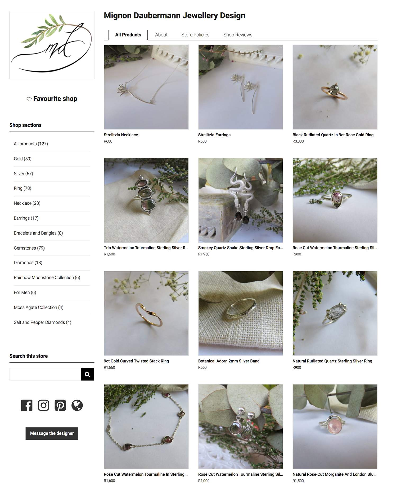 Mignon Daubermann Store Look & Feel